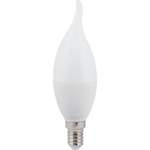 Лампа светодиодная E14 свеча на ветру 7,0W 2700K
